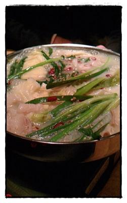 美味しい モツ鍋