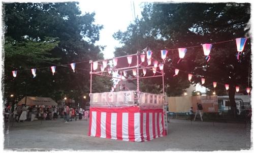 七軒家公園の盆踊り大会