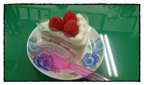 ショートケーキ!