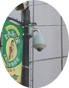 防犯カメラ 上板橋商店街