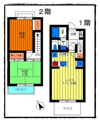 上板橋 テラスハウス